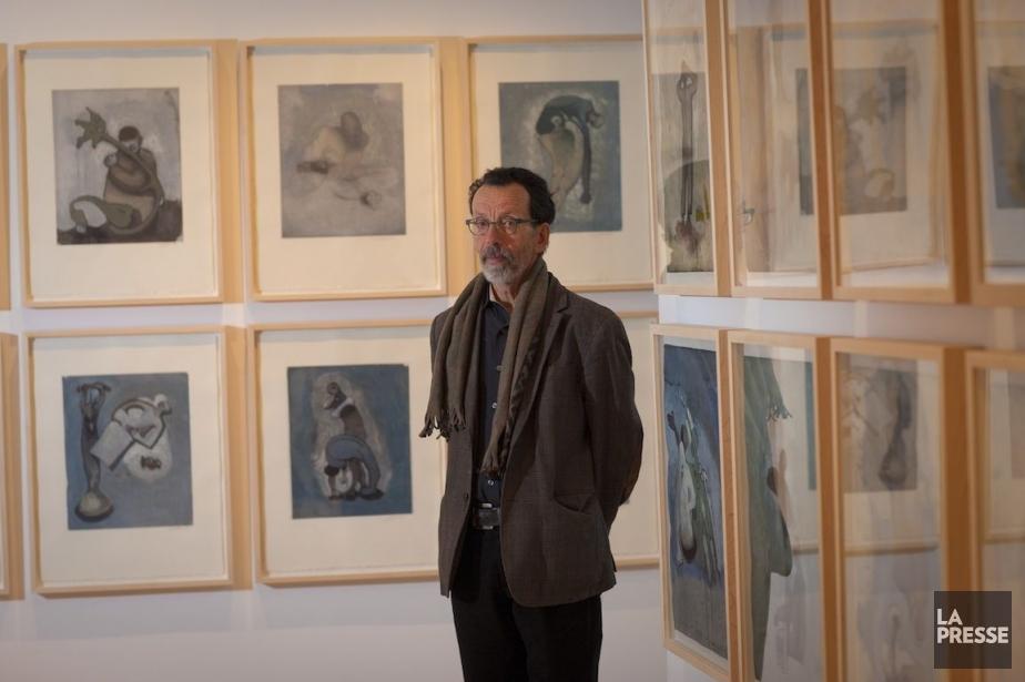 L'artiste Louis-Pierre Bougie expose ses œuvres