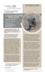 Vernissage – Louis-Pierre Bougie – Allers-retours – 3 juin 2015