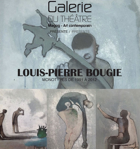 Louis-Pierre Bougie: monotypes de 1991 à 2012