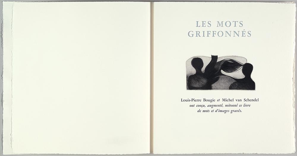 Les mots griffonnes 1 (2011)