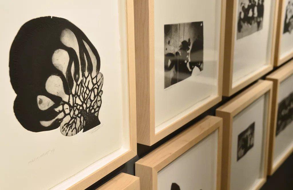 L'exposition de Louis-Pierre Bougie à la maison Hamel-Bruneau.